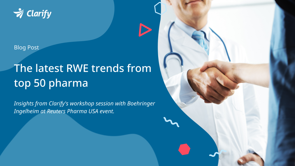 The latest RWE trends from top 50 pharma