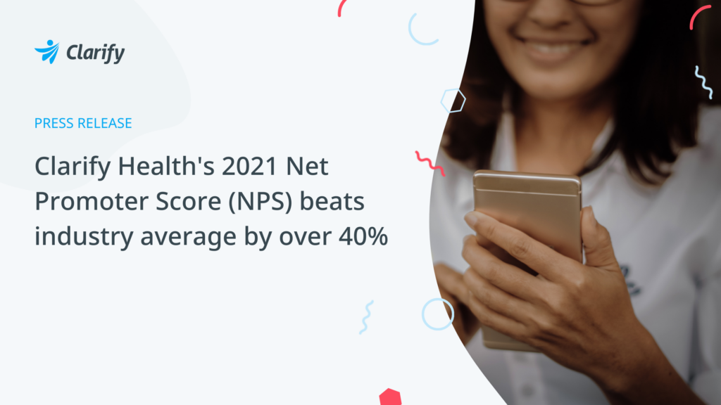 Clarify Health 2021 NPS Results