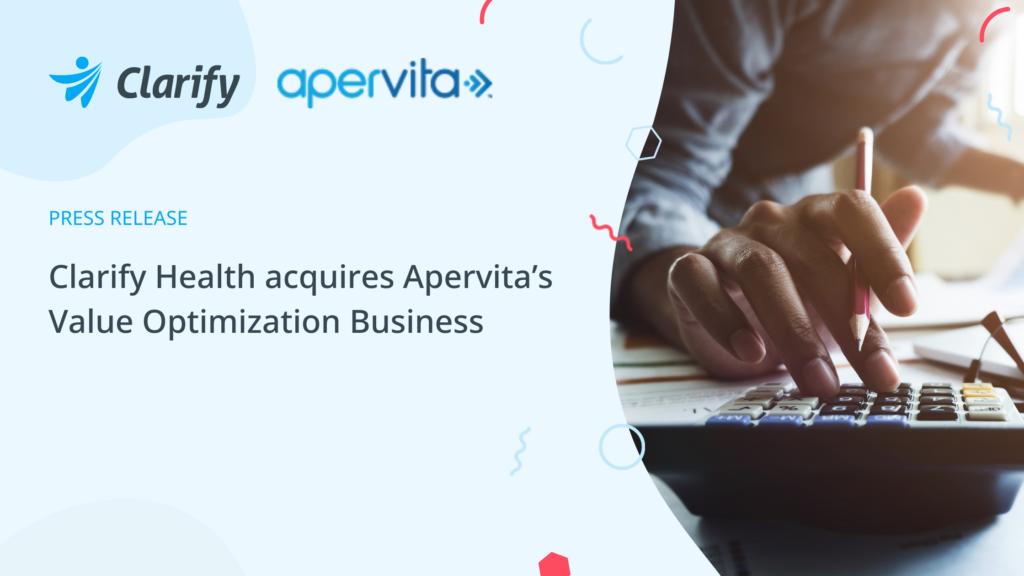 Clarify Health acquires Apertiva's value optimization business