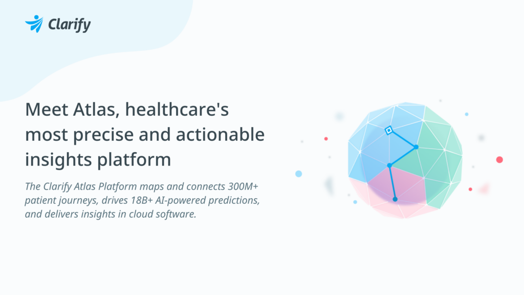 Clarify Atlas Platform - healthcare's most precise and actionable insights platform
